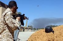 قوات الوفاق تسيطر على أغلب مطار طرابلس الدولي