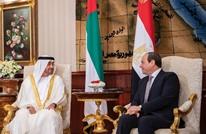 ولي عهد أبوظبي يجري مباحثات مع الرئيس المصري بالقاهرة