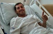 كاسياس يكشف جديد حالته الصحية بعد الأزمة القلبية