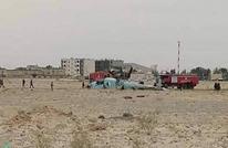 سقوط طائرة عسكرية بالجزائر ونجاة طاقمها (شاهد)