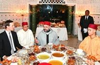 """""""كوشنر"""" وغرينبلات على مائدة إفطار العاهل المغربي"""