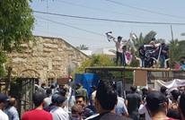 """أنصار الحشد الشعبي يقتحمون مقر """"mbc"""" في بغداد (شاهد)"""