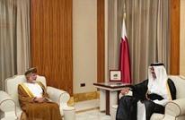 رسالة لأمير قطر من سلطان عمان بعد أيام من رسالة لأمير الكويت