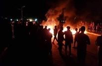 إضرام النار بمقر فصيل عراقي مقرب من إيران (شاهد)