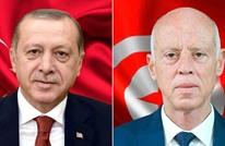 أردوغان وقيس سعيد يبحثان الشأن الليبي وقضية فلسطين