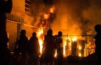 عنف بأمريكا خلال احتجاجات على قتل الشرطة رجلا أسود (شاهد)