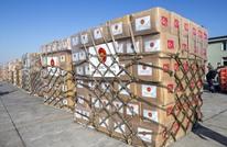 قافلة مساعدات تركية تتوجه إلى غزة بتنسيق مع مصر