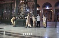 أداء صلاة الفجر بالمسجد النبوي بعد إغلاق لشهرين (صور)