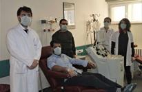 هكذا احتفل عاملون بمشفى تركي بخلوه من حالات كورونا خطيرة