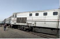 خروج قطار في مصر عن القضبان دون خسائر بشرية (شاهد)