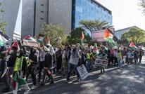 احتجاجات في لندن تندد باعتداءات الاحتلال الإسرائيلي (شاهد)