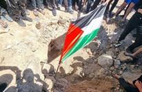 فلسطينيو الداخل يحتفون بسقوط صاروخ غزاوي ببلدتهم (شاهد)