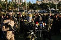 """الجناح العسكري لـ""""فتح"""" يهتف لقائد القسام الضيف (شاهد)"""