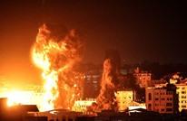 طائرات الاحتلال تقصف مواقع للمقاومة بقطاع غزة (شاهد)