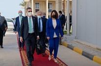 تضامن رسمي ليبي مع فلسطين.. وزيرة ترتدي كوفية (شاهد)