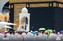 معتمر يحاول الاعتداء على إمام الحرم خلال خطبة الجمعة (شاهد)