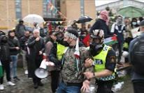 السلطات السويدية توقف 15 شخصا خلال مظاهرة مناصرة لفلسطين