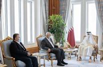 أمير قطر يستقبل وفدا من حركة حماس في الدوحة