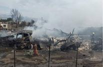 قتلى وجرحى جراء حريق بناقلات نفط في كابل (شاهد)