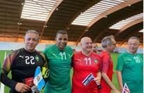 سفير الاحتلال بالمغرب يحضر مباراة كرة قدم مع سفراء عرب