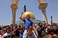 """خطيب الجمعة بـ""""الأقصى"""": غزة ملأت قلوبنا كرامة وعزّة (شاهد)"""