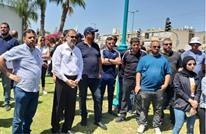 احتجاج في اللد على إطلاق سراح مستوطن قتل فلسطينيا (شاهد)