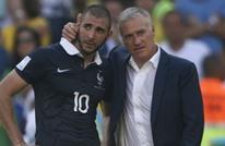 ديشامب يكشف عن أسباب إعادته بنزيمة إلى منتخب فرنسا