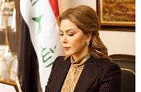 رغد صدام تتوعد بإزاحة النظام الحالي للعراق إثر حادثة الحريق