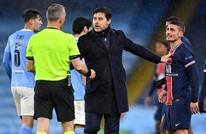 """حكم مباراة مانشستر سيتي وسان جيرمان متهم بـ""""إهانة لاعبين"""""""