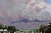 إخلاء مئات المنازل في كاليفورنيا بسبب حرائق الغابات