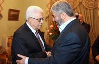 """""""غزل"""" متبادل بين مشعل وعباس في مؤتمر فتح السابع (فيديو)"""
