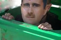 المعارضة السورية تفتتح صناديق قمامة للتصويت للأسد