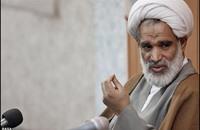 مرجع إيراني: زيارة أمير الكويت هزيمة للعرب والخليج