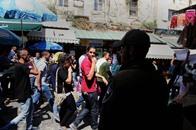 مئات الفلسطينيين يتظاهرون في القدس لإفشال مهرجان تهويدي