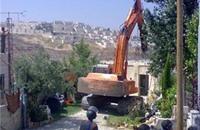 """الاحتلال يهدم منزلا في """"فرعون"""" جنوب طولكرم"""