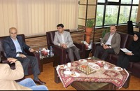 رئيس قناة المنار في طهران لبحث تعزيز التعاون الإعلامي
