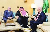 ولي العهد السعودي يلتقي مدير المخابرات الأمريكية