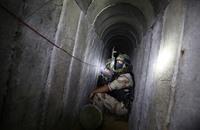 نظارات إلكترونية لتوجيه جنود الاحتلال للقتال داخل أنفاق غزة