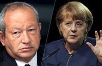 نشطاء يسخرون من ساويرس.. وإعلام السيسي: ألمانيا عدوتنا