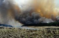 حرائق هائلة في ألاسكا الأمريكية تدفع لإجلاء السكان