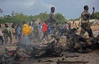 """مقتل وإصابة العشرات بتفجيرين لـ""""الشباب"""" جنوب الصومال"""