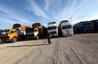 مليشيات الحشد بالعراق تصادر البضائع التركية
