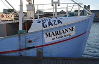 """سفينة مجهولة الهوية تقترب من """"مريان"""" المتجهة لغزة"""