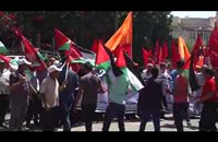 """مسيرة بغزة إحياء للذكرى الـ(48) لـ""""النكسة"""""""
