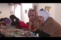 مكفوفون بالأردن يرسمون ببصيرتهم ويلونون لوحاتهم بحاسة الشم