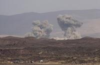 غارات على معسكرات موالية للحوثيين في أرحب بصنعاء