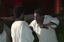 مأساة المهاجرين غير القانونيين على مسرح سوداني