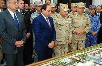 السيسي يفتتح مشروعات لمبارك ومرسي وينسبها لعهده