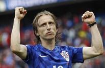 نجم ريال مدريد ينال جائزة أفضل لاعب في مباراة كرواتيا وتركيا