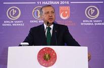 ماذا فعل أردوغان فجر وصوله إلى أنقرة (فيديو)